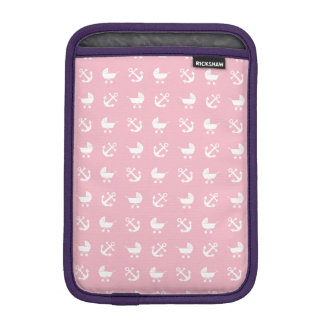 Baby girl nautical pattern iPad mini sleeves