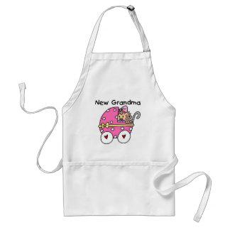 Baby Girl New Grandma T-shirts and Gifts Apron