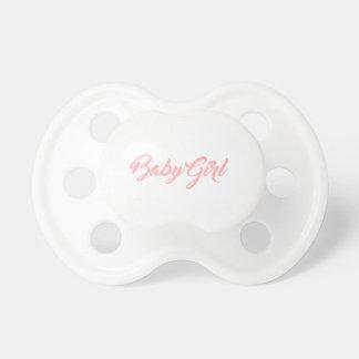 Baby Girl Pacifier