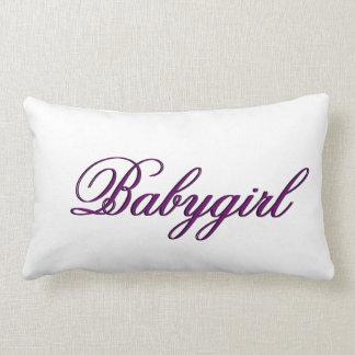 Baby Girl Pillow