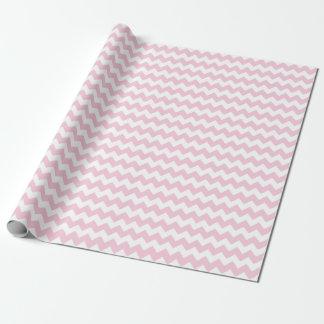 Baby Girl Pink and White Zigzag Chevron Stripes