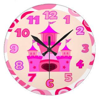 BABY GIRL,princess room Clock