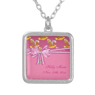 Baby Girl Rocking Horses Baby Shower Custom Jewelry