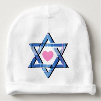 Baby Girl Star of David Hanukkah Beanie Hat Baby Beanie