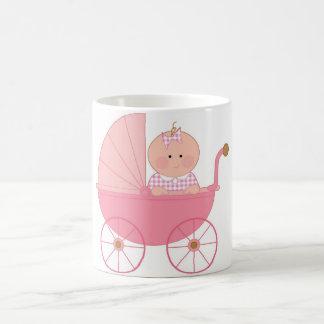 Baby Girl Stroller Coffee Mug