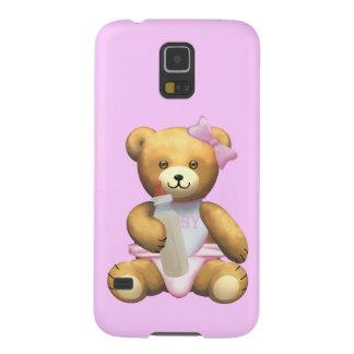 Baby Girl Teddy Bear Case For Galaxy S5