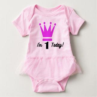 Baby girl tutu 1st Birthday bodysuit