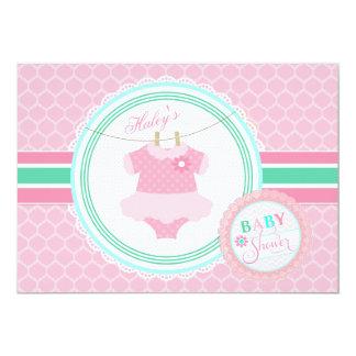 Baby Girl Tutu Shower Invitation