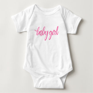 Baby Girl Vest Bodysuit Cute First Birthday