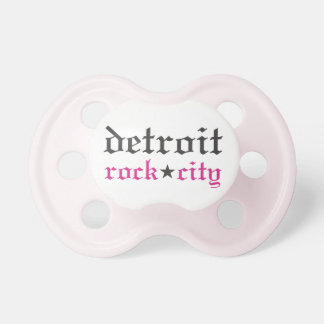 Baby Girl's Detroit Rock City Pacifier