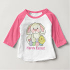 Baby girls Easter Bunny t-shirt