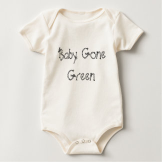 Baby Gone Green Rompers
