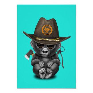 Baby Gorilla Zombie Hunter Card