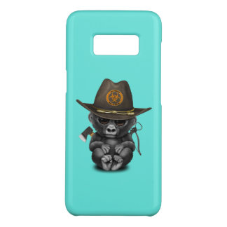 Baby Gorilla Zombie Hunter Case-Mate Samsung Galaxy S8 Case