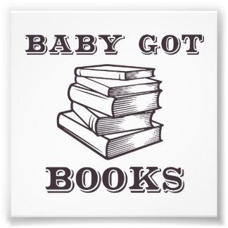 Baby Got Books Photo Art