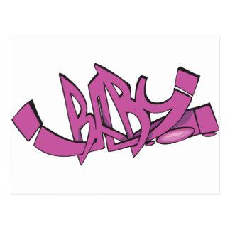 Baby Graffiti Postcard
