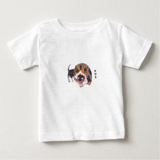 Baby Greedy Beagle Dog Baby T-Shirt