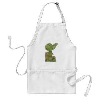 Baby Green Theme Highfive Punch Hi5 HIFI Gifts KID Adult Apron