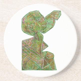 Baby Green Theme Highfive Punch Hi5 HIFI Gifts KID Beverage Coasters