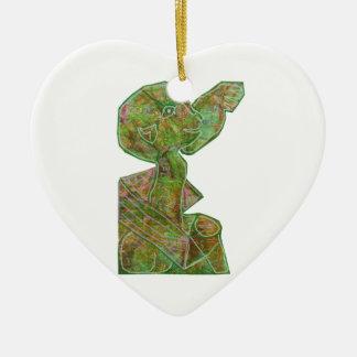 Baby Green Theme Highfive Punch Hi5 HIFI Gifts KID Christmas Ornament