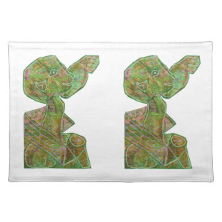 Baby Green Theme Highfive Punch Hi5 HIFI Gifts KID Placemat