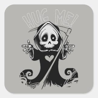 Baby Grim Reaper Hug Me Sticker