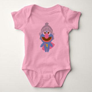 Baby Grover in Armor Baby Bodysuit
