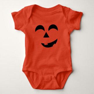 Baby Halloween Jack-o-lantern Baby Bodysuit