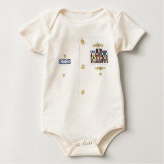 Baby Halloween Navy Officer Top