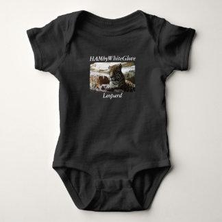 Baby HAMbyWhiteGlove Leopard T-Shirt