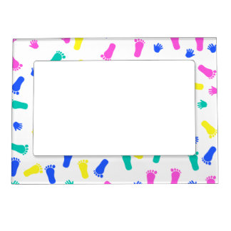 Baby Hand Prints and Foot Prints Magnetic Frame