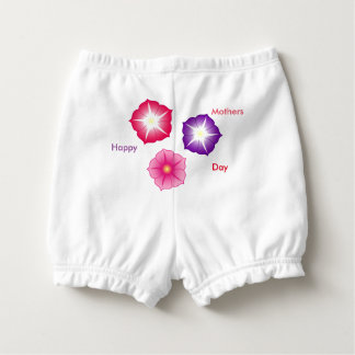 Baby Happy Mothers Day Ruffled Diaper Bloomers Nappy Cover