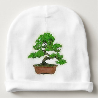 Baby Hat: Japanese Bonsai Tree Baby Beanie