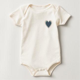 baby heart baby bodysuit