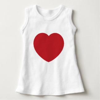 Baby heart Sleeveless Dress