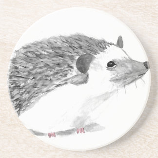 Baby hedgehog animal coaster