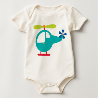 Baby Helicopter Baby Bodysuit