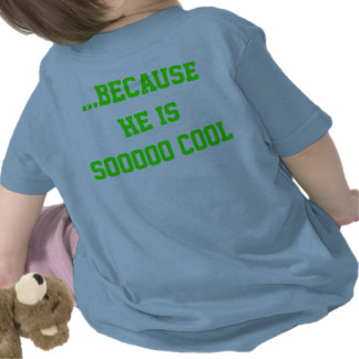"""Baby herdsman blue """"Daddy's biggest fan """" Tshirts"""