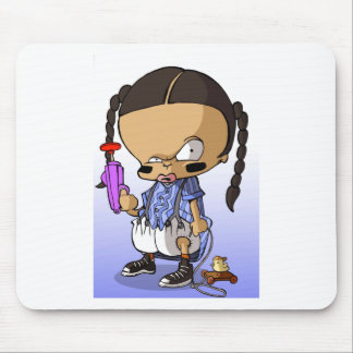 Baby Hip Hop Gangsta Mouse Pads