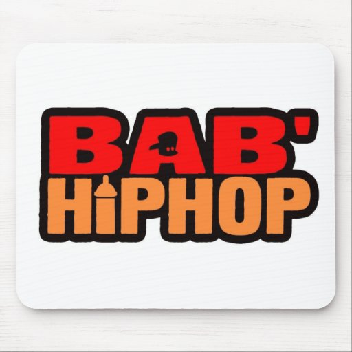Baby Hip Hop Logo Four Mouse Pad