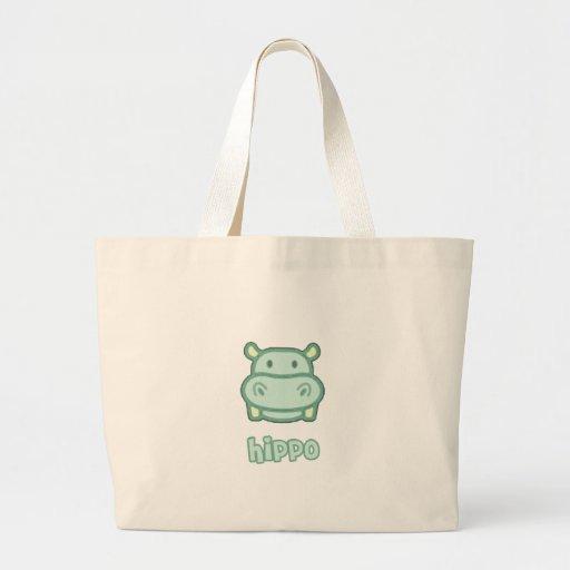 Baby Hippo Cartoon Bag