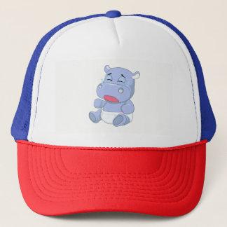 Baby Hippo Crying Trucker Hat