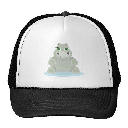 Baby Hippo Mesh Hats