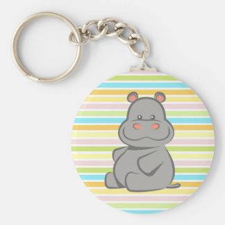 Baby Hippo Keychain