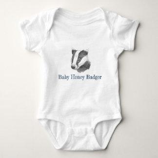Baby Honey Badger Baby Bodysuit