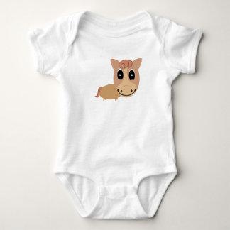 Baby horse baby bodysuit