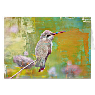 Baby Hummer in Pastel Card