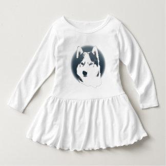 Baby Husky Dress Siberian Husky Puppy Baby Dress Tees