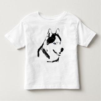 Baby Husky Shirt Sled Dog Toddler Husky T-shirts
