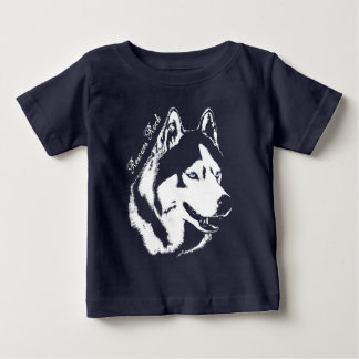 Baby Husky T-Shirt Sled Dog Puppy Shirt Customize